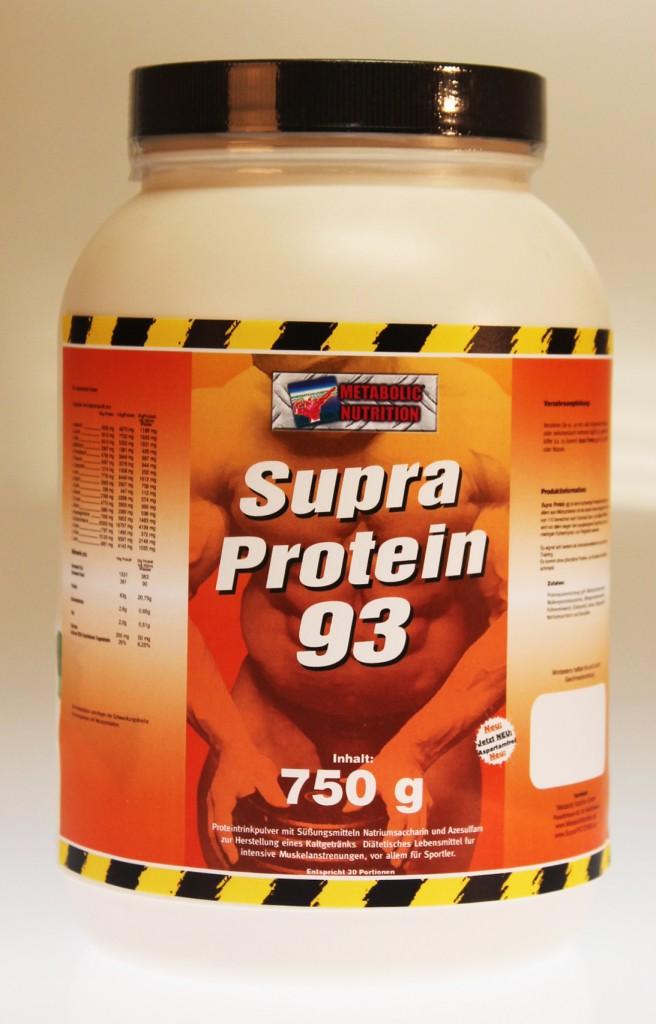 Supra Protein 93 Test